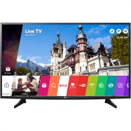 Televizor LED Smart LG, 108 cm, 43UH6107, 4K Ultra HD