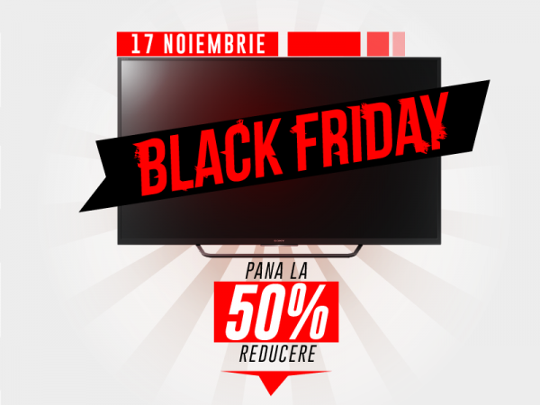 Black Friday 2017 televizoare